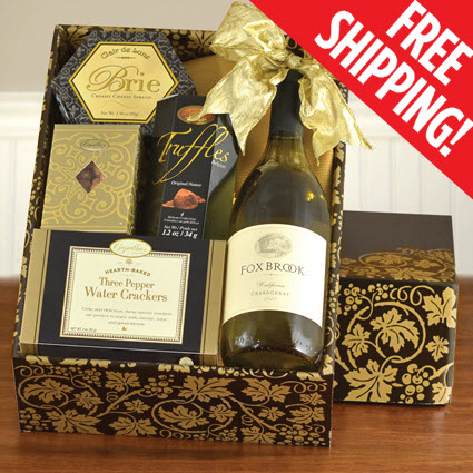 White Wine Basket Gifts   White Wine Gift Basket Set   White Wine ...