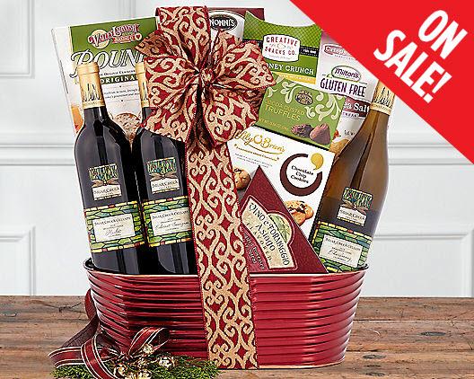 Merlot gift baskets merlot wine gift baskets merlot gifts negle Choice Image