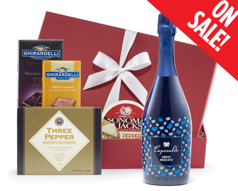 Sweet Moscato Wine Gift Set Gourmet Chocolate Cheese u0026 Crackers Price $40.95. SALE $33.95  sc 1 st  Wine Gift Gallery & Moscato Gift Basket   Moscato Wine Gift Baskets   Moscato Gift Sets
