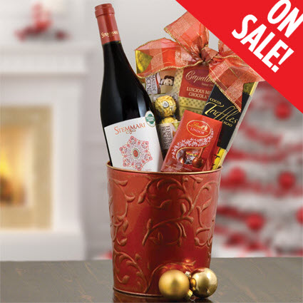 Pinot Noir Gift Basket   Pinot Noir Wine Gift Baskets   Pinot Noir ...